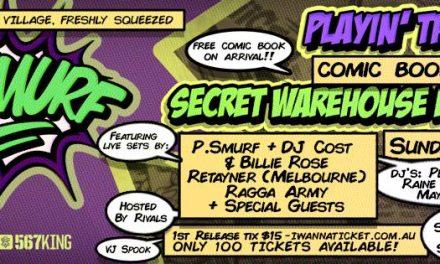 P.Smurf Comic Book Launch