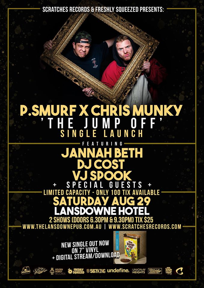 P.Smurf X Chris Munky 'The Jump Off' Single Launch