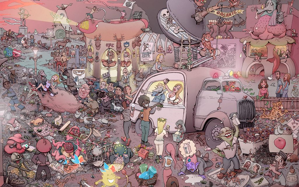 That Sneaky Rabbit | Sam the Caricaturist