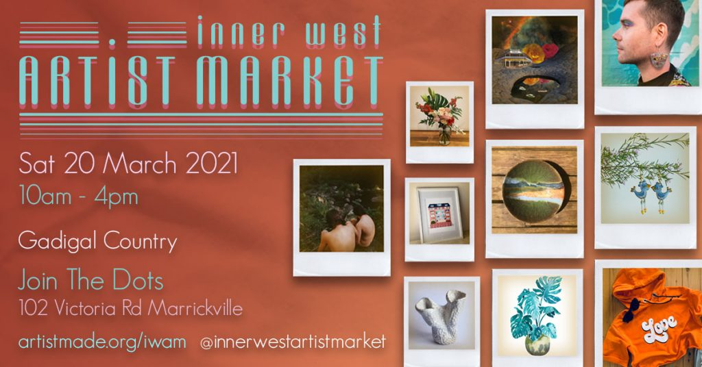 Inner West Artist Market Autumn 2021