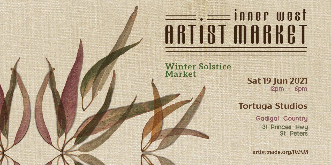 Inner West Artist Market Winter 2021